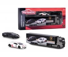 Lamborghini Truck + 2 Autos