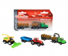 Majorette Farm Trailer Set