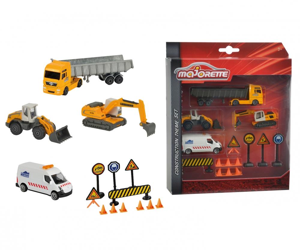 Construction theme set marken produkte