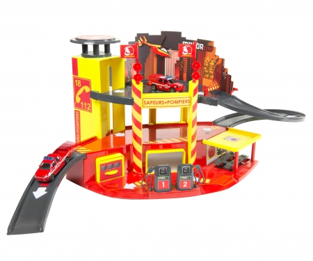 garage motor city pompiers garage univers de jeu marques produits. Black Bedroom Furniture Sets. Home Design Ideas