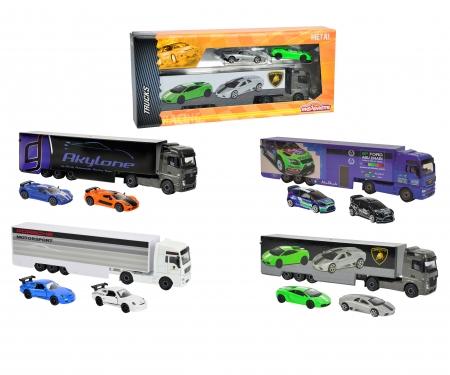 Racing Truck + 2 Voitures
