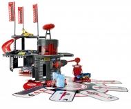 Racing Paddock Garage + 1 Racing Car