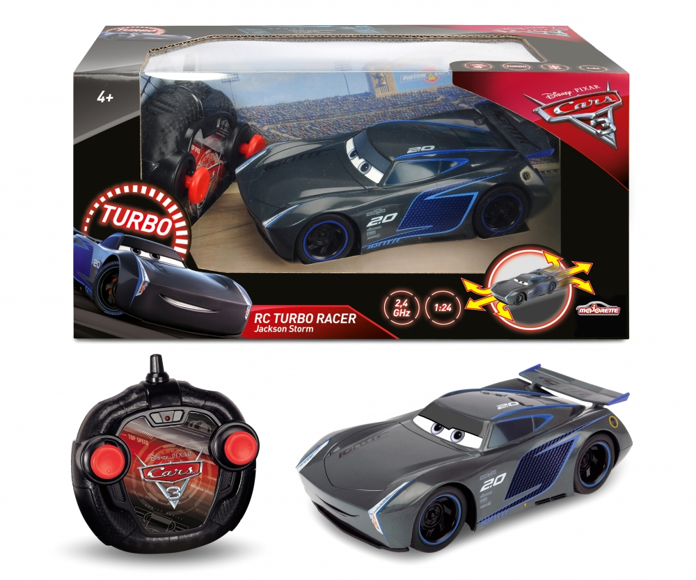 cars 3 rc 1 24 jackson storm radio commande cars marques produits. Black Bedroom Furniture Sets. Home Design Ideas