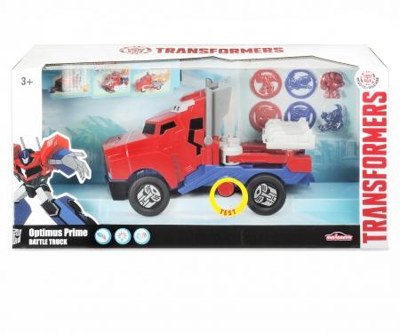 Transformers Optimus Prime Camion Lance Disque