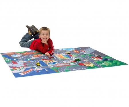 Tapis Play Carpet + 1 Voiture Et Accessoires