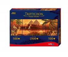 Tript. Puzzle 2000 tlg. Pyramiden