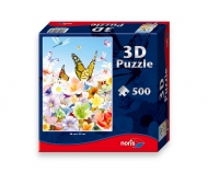 Puzzle 500 pcs with 3D effects Butterfly