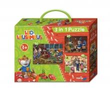 Leo Lausemaus 3 in 1 Puzzlespaß
