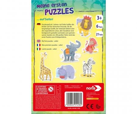 My first jigsaw On safari