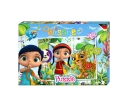 "Wissper - Puzzle 48pcs.""Forest World"""