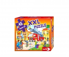 big-sized jigsaw puzzle fire station 45