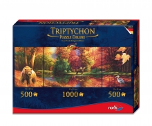 Tript. Puzzle 2000 pcs. Indian Summer
