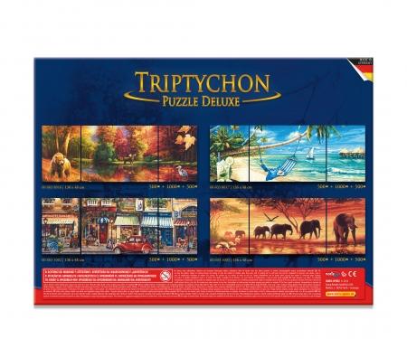 Tript. Puzzle 2000 pcs. Indian Summer