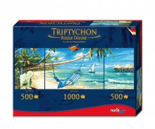 Tript. Puzzle 2000 pcs. South Sea Dreams