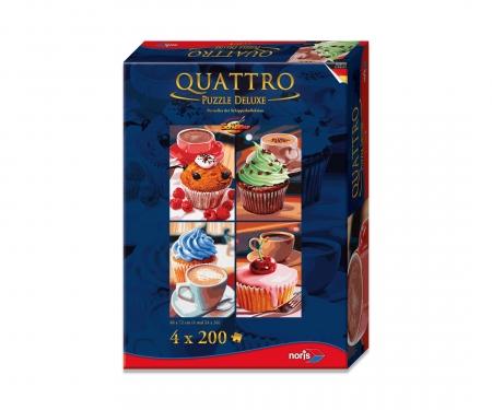 Quattro Puzzle 800 pcs. Cupcake