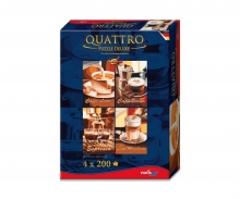 Quattro Puzzle 800 pcs. Coffee break