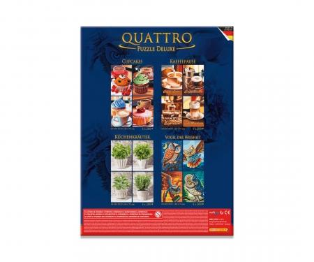 Quattro Puzzle 800 pcs. Coffee break