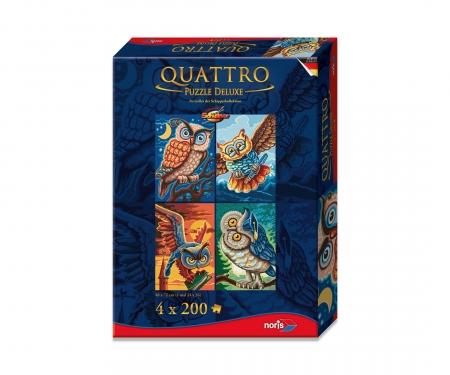 Quattro Puzzle 800 pcs. Bird of wisdom