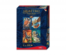 Quattro Puzzle 800 pcs. Bird of wisdom