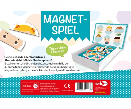 Magnetic game - Emotions