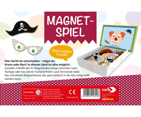 Magnetic game - Funny friends