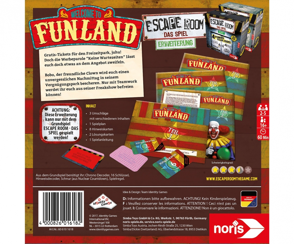 Escape The Room Funland