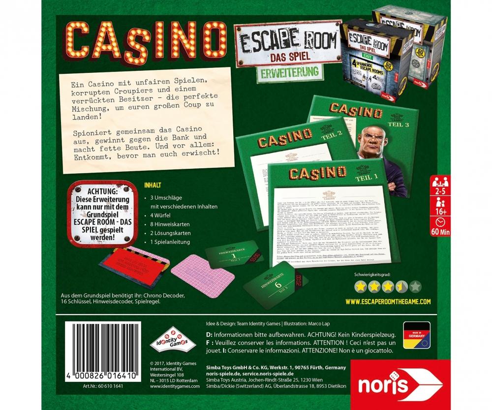 escape room casino lösung teil 1