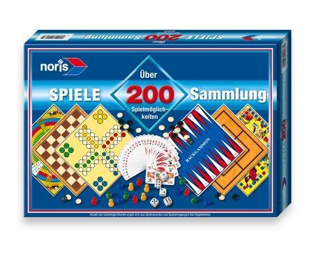 Spielesammlung 200 Spielmglk.