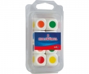Colour dices wooden 20mm