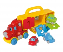 simba ABC Learn- and Funtruck, 3 Cars