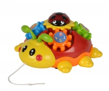 simba ABC Pull along Beetle with Melody