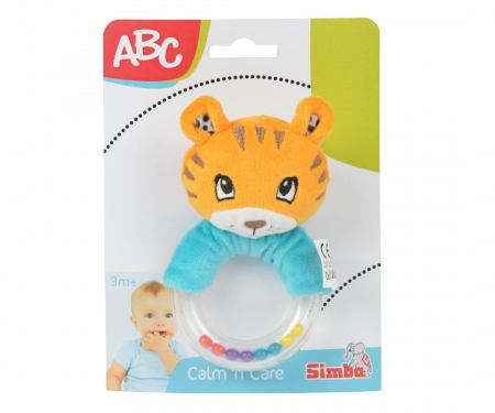 simba ABC Plüsh Ringrattle, 2-ass.