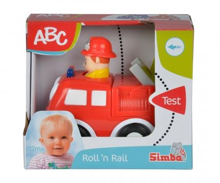 simba ABC Press 'n Go Car, 2-ass.