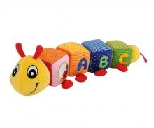 simba ABC Plush-Caterpillar with functions