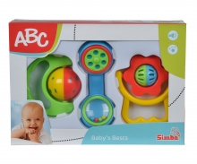 simba ABC Baby Rattle Set