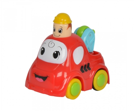 simba ABC Funny Press 'n Go Car, 3-ass.