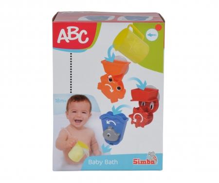 simba ABC Bath Play Set