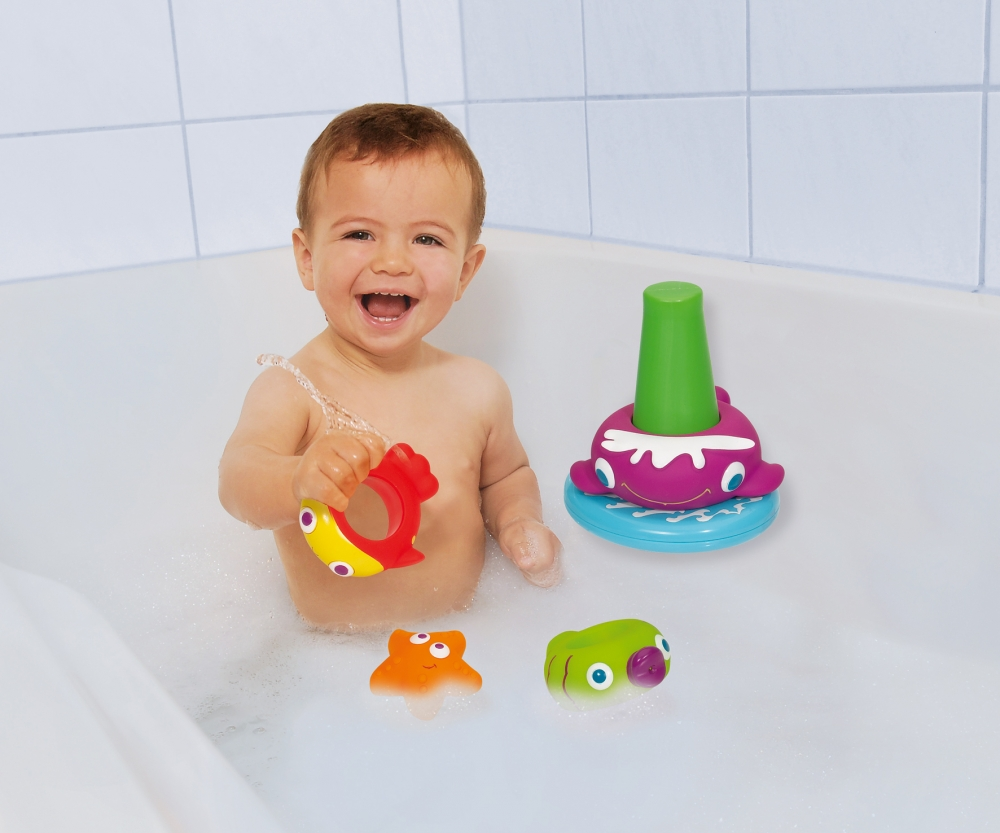 abc stapelfreunde f r badewanne baby bath abc marken. Black Bedroom Furniture Sets. Home Design Ideas