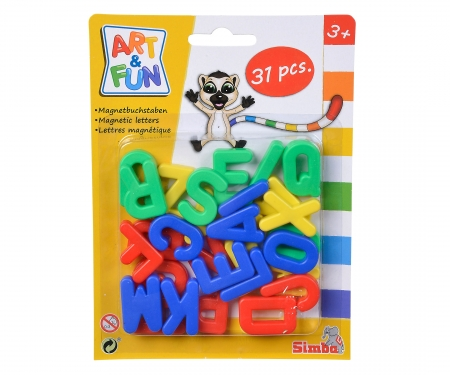 simba Art&Fun Magnetic Capital Letters