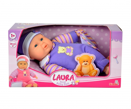 simba Laura First Baby Doll, 2-ass.