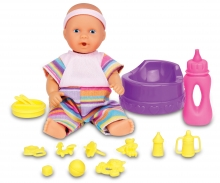 simba Mini New Born Baby Baby Care Set, 2-ass.