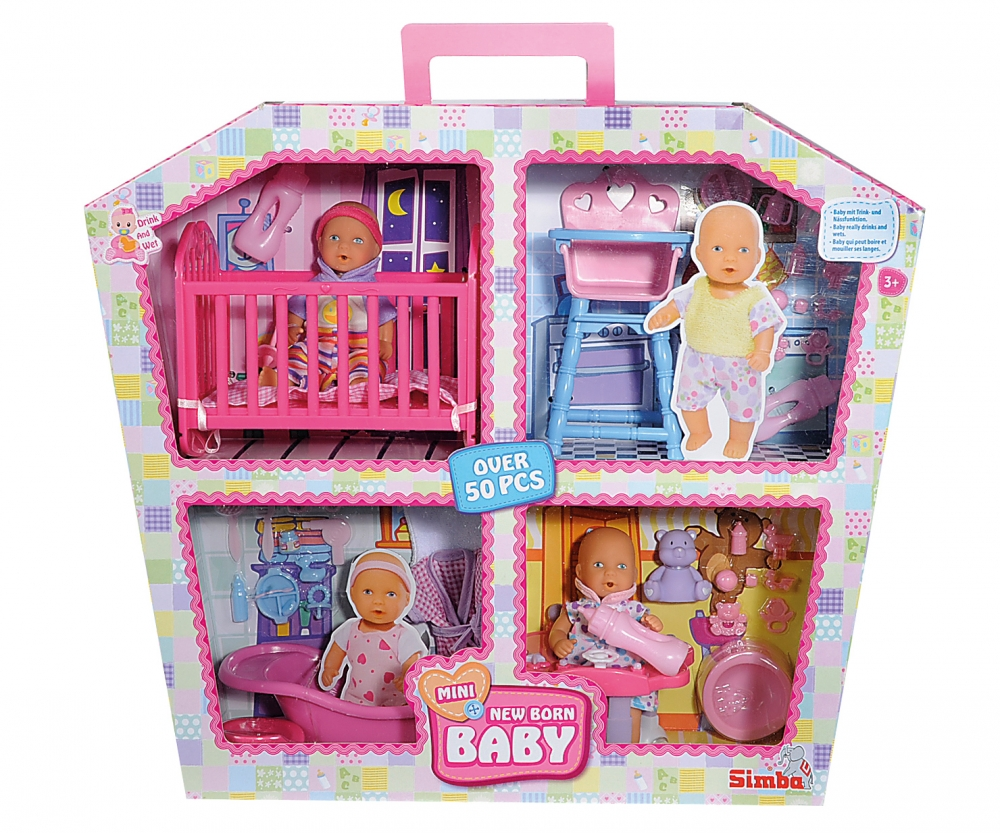 Mini New Born Baby Doll House New Born Baby Brands