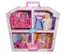 simba Mini New Born Baby Doll House