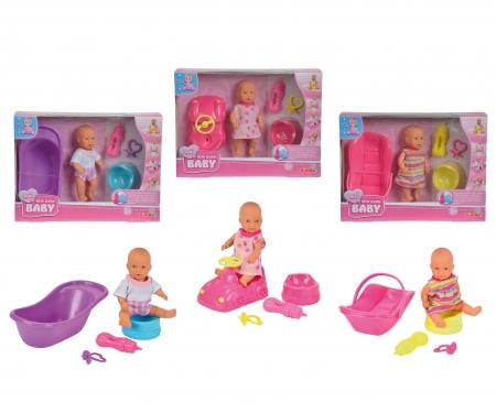simba Mini New Born Baby Set, 3-ass.