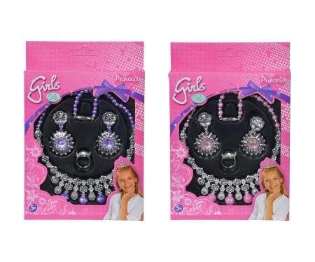 simba Steffi LOVE Girls Princess Jewellery, 2-ass.