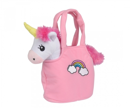 simba Steffi LOVE Girls Unicorn in Bag