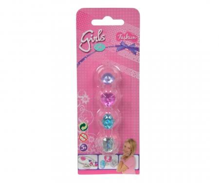 simba Steffi LOVE Girls Diamant Rings, 2-ass.