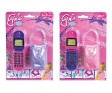 simba Steffi LOVE Girls Mobile Phone, 2-ass.