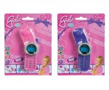 simba Steffi LOVE Girls Glitzerhandy, 2-sort.