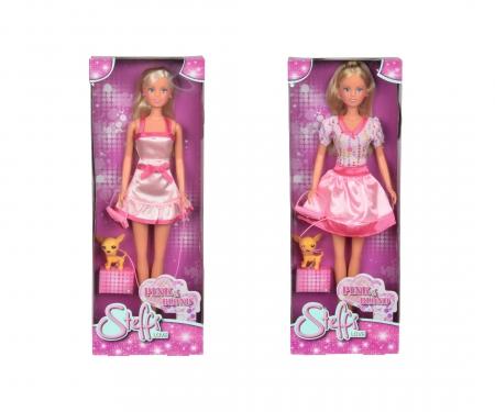 simba Steffi LOVE Pink and Blond, 2-ass.